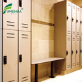hpl impact resistance gym club lockers with air vent