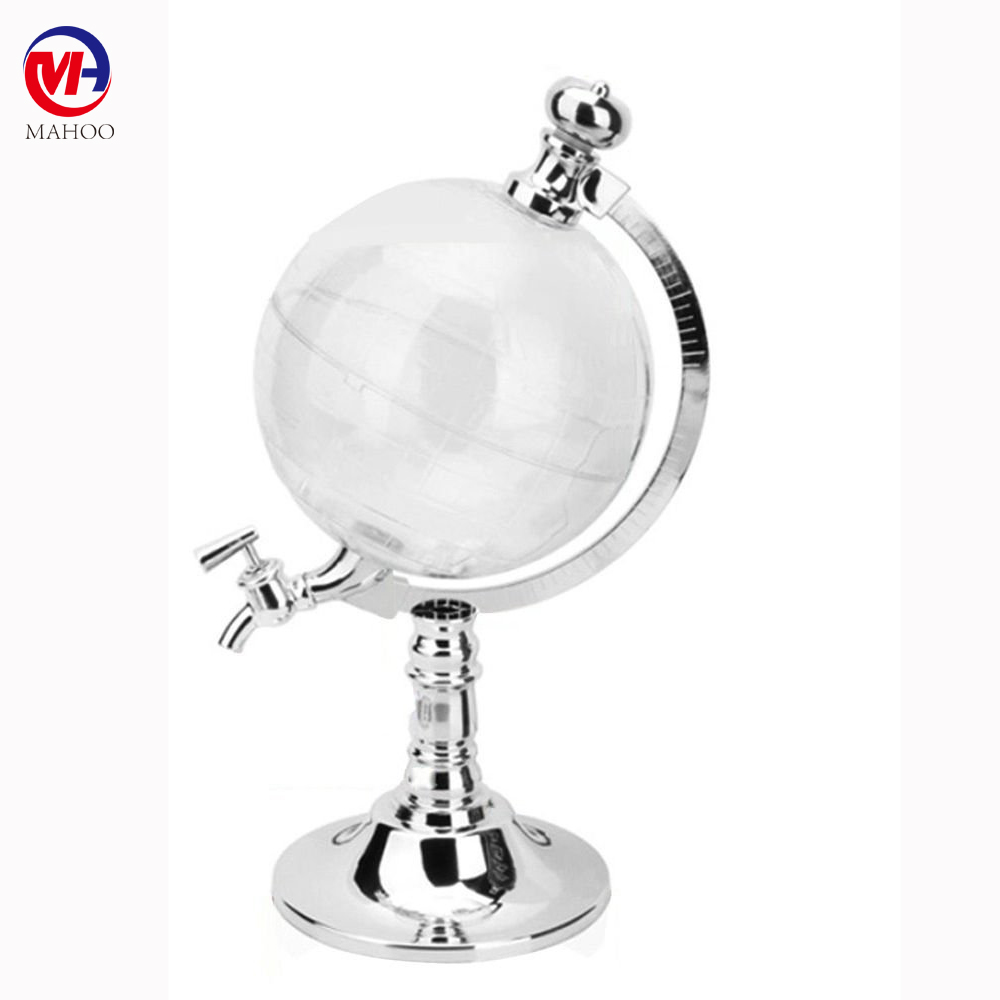 Bar decoration Creative mini globe beer dispenser beer tower