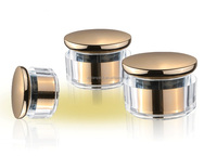 Plastic cosmetic jar, cosmetic container ,face cream jars