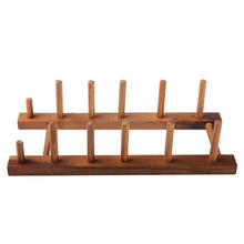 Wholesale home hotel restaurant decor simple design cutting board rack plate rack kitchen storage rack