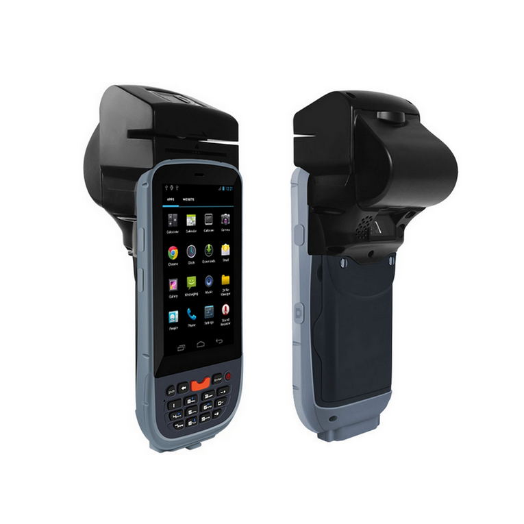 Made in China android handheld pda/passport reader/mrz ocr scanner with thermal printer