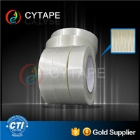 Anti elastic recovery decorative masking tape used for box-sealing