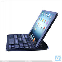 2013 New and Hot Aluminum Wireless Bluetooth Keyboard with Magnetic Strip for iPad Mini --P-iPDMINIBTHKB017