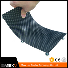 flexible led screen panel p4 p5 p6 p8 p10 indoor rgb full color soft led display panel for cylinder and cirular