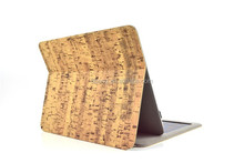 Wood Pattern Standing Leather Tablet Case For IPad with keyboard /stand