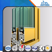 New design kitchen aluminium window profiles from China powder coating