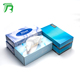Wholesale cheap price flat box big soft plastic pack cube box paper facial tissue