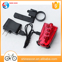 Fashion Bicycle Accessories Excellent Led Spare Parts Tail Light Bicycle Laser