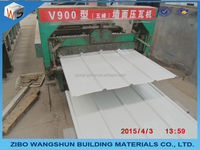 high rib roofing sheet color coated roof tile zinc roof sheet
