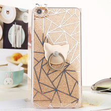 Newest design Diamond Flash powder flip leather cell phone case for all iphone