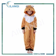 ALQ-C033 Sleepwear party cosplay flannel animal child hoodies pajamas