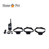 New type battery operation nylon strap remote dog training shock collar