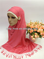 2014 NEW STYLE muslim plain shawl,cotton long scarf,islamic hijab SYF056