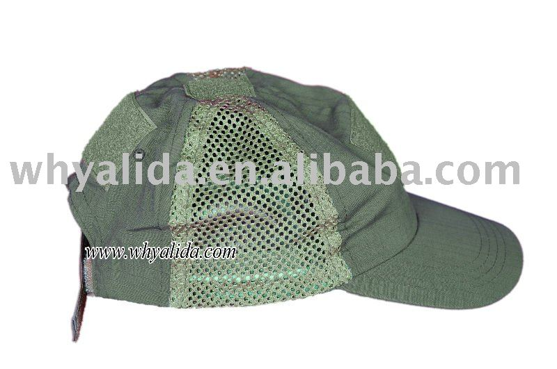 T/C 65/35 Ripstop Military Army Olive Green Baseball Hats