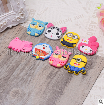 wholesale promotional cartoon PVC fridge magnet