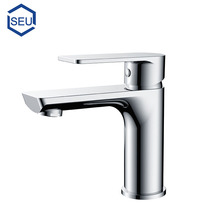 Contemporary fancy polished brass chrome bath bathroom sink faucet