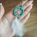 GK083 fashion cheap price custom handmade dream catcher keychain