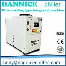 Dannice New Design 30kw cooling capacity water chiller manufacturer with cooling tower and two water pumps inside