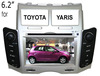 for Toyota Yaris doubel din Car audio with GPS