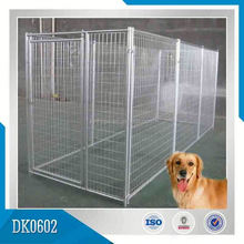 Factory Manufacturer Galvanized Outdoor Dog Kennel Runs