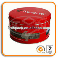 Cheese cake Tin boxes Packaging round shape