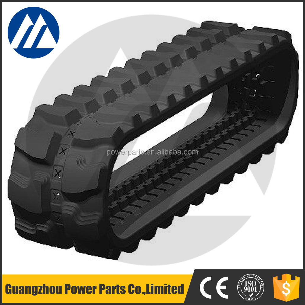 Mini Excavator rubber track 260*109*37 for sale