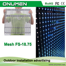 New innovative products glass wall led screen by ONUMEN