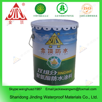 Environment Friendly Single-part Polyurethane Waterproof Roofing Coating /Paint