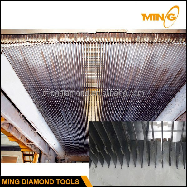 High Tech Diamond Frame Saw Blade For Wet Cutting Marble