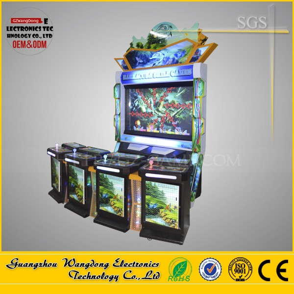 4 players fishing slot game machine/WD-F05 catch fish video game machine