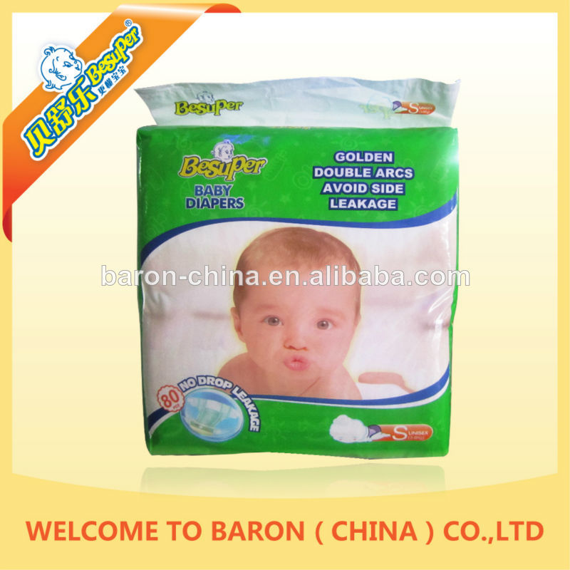 Design direct best quality OEM China company supply diapers in pallets