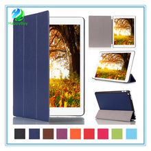 Best quality new leather cell phone case for ipad Pro with PU and PC materials