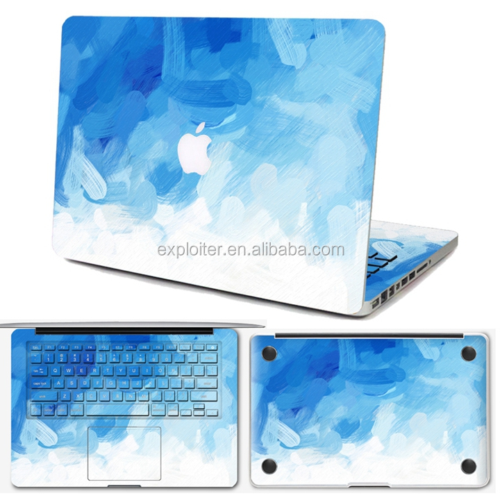 Removable diy laptop skin for macbook pro15.4 inch decoration