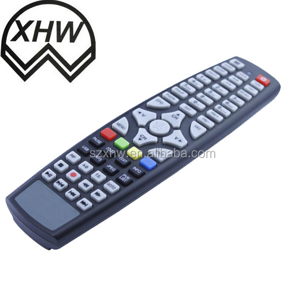 tv remote control codes with key buttons for TV STB IP