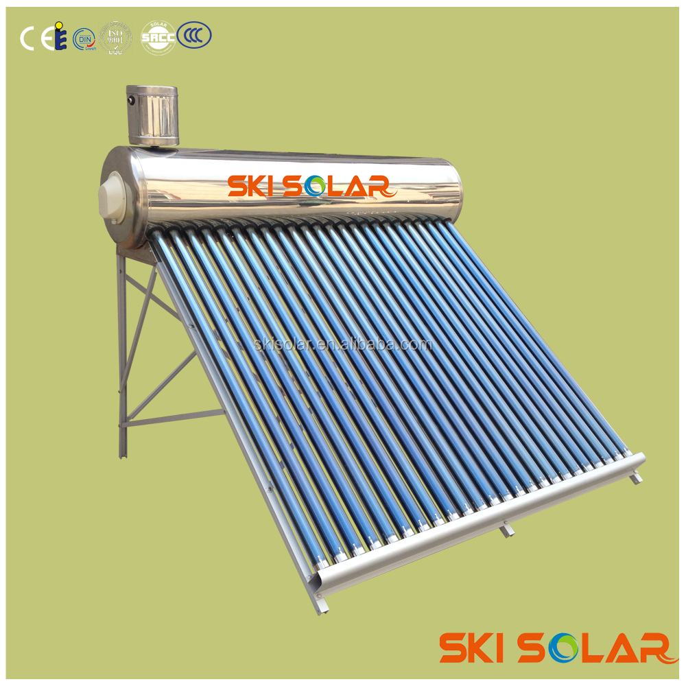 Manufacturer Unpressurized Glass Water Bongs of Solar Water Heater