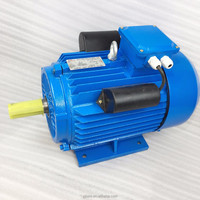 0.18-5.5 kw single phase induction AC motor foot mounted 220v