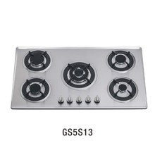 GS5S13 5 burner stove stainless steel auto parts gas hob