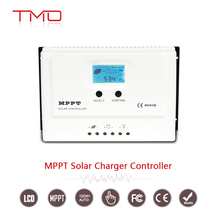 30 Amp MPPT Solar Charge Controller DC 150V PV Input 12V / 24V Solar Controller with LCD Display for Solar Panel Regulator