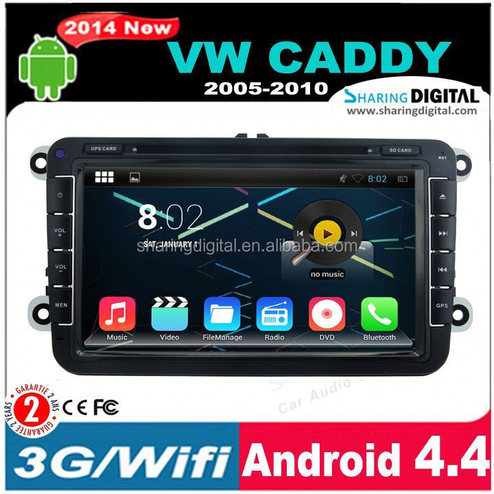 VWM-8401GDAHd Tft With Touch Screen car dvd gps navigation system for Caddy