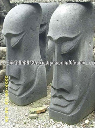 Best New Design Easter Island Decorative Stone Carving