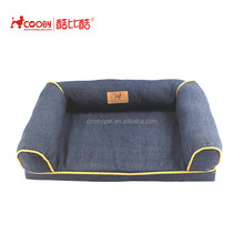 New style Detachable solid memory foam orthopedic dog pet bed luxury