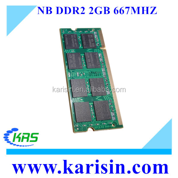Best Working laptop ram pc2 5300 sodimm 2gb 667 mzh with ETT original chips
