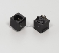 Network Use Telecome Female Connector RJ45 Connector For Sfp