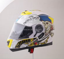 Fashion Flip up helmet with double visors,full face helmet,DOT ECE approved helmet