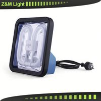 Z&M 7715ES Plastic body Work light high intensity brightness 10w