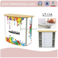 Beautiful plastic promotion desk