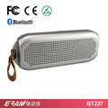 2017 waterproof speakers ipx7 bluetooth 4.0 speaker with leather hand strap