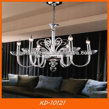 Modern hand blown glass chandelier for hall hotel home house decoration KD-10121