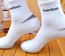 2017 men sport sock confortable bamboo brand sports socks bamboo socks