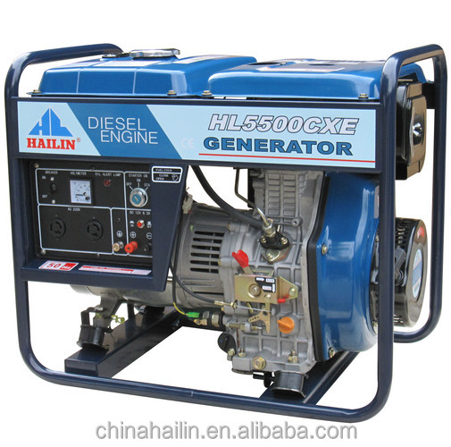 Best quality 5KW equal power output open diesel generator